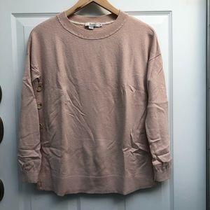 Boden Grace side button sweater